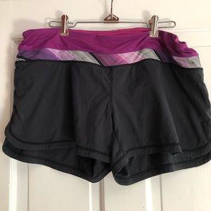Lululemon Running Shorts, 12